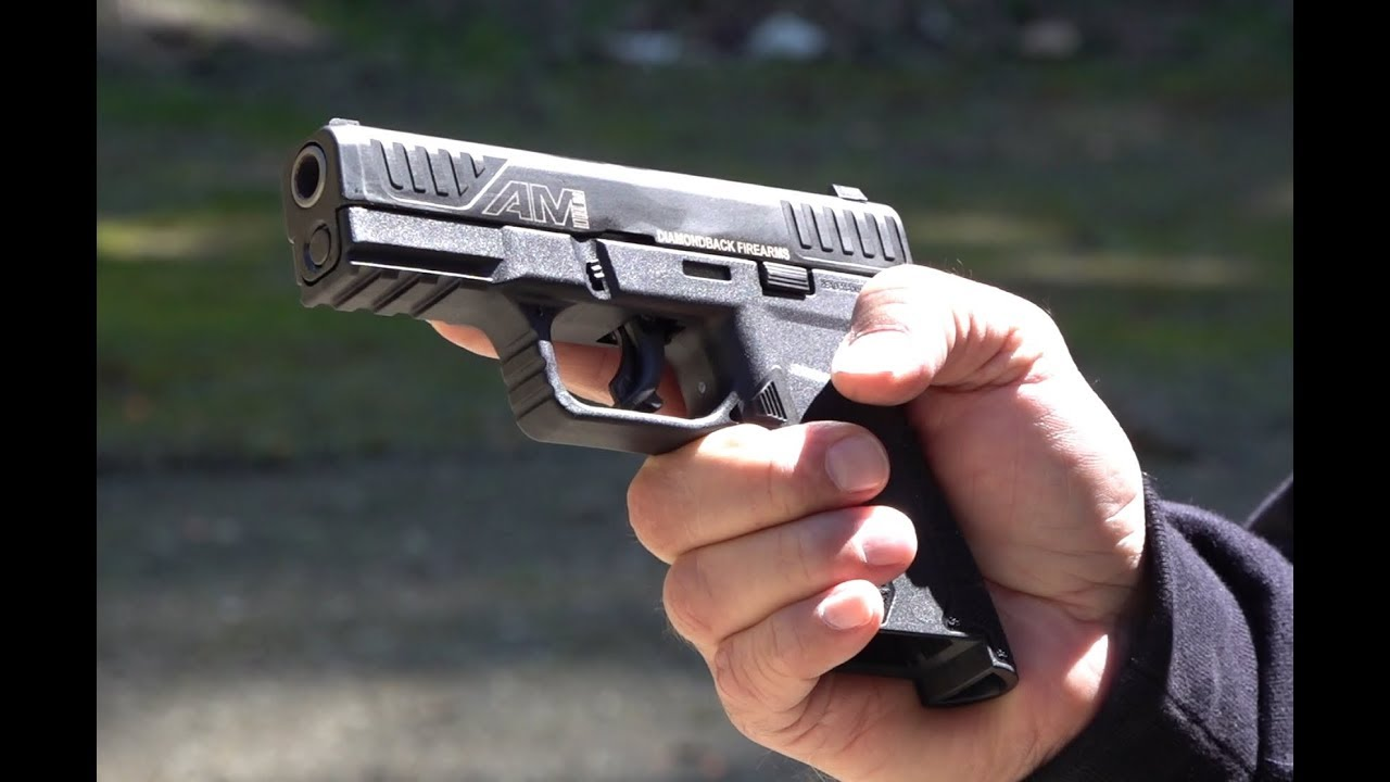 Diamondback Firearms AM2 9mm Pistol Review