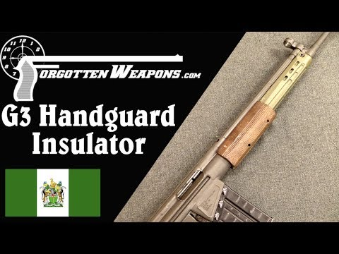Rhodesian-Production G3 Handguard
