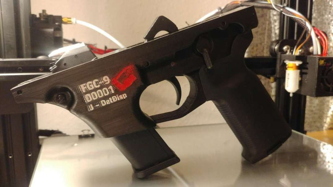 3D-Printed FGC-9 Lower Receiver Function Test