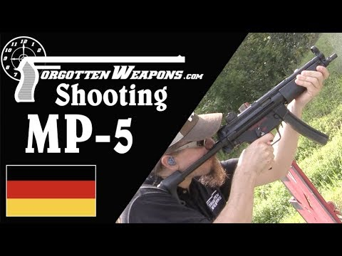 At the Range with the Iconic MP5A3