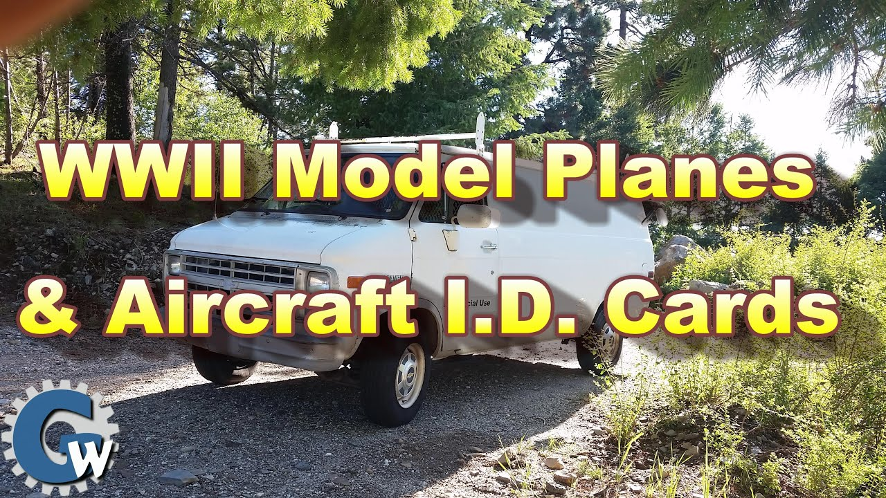 Model Planes & Aircraft I.D. Cards