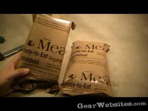 MREs from eBay