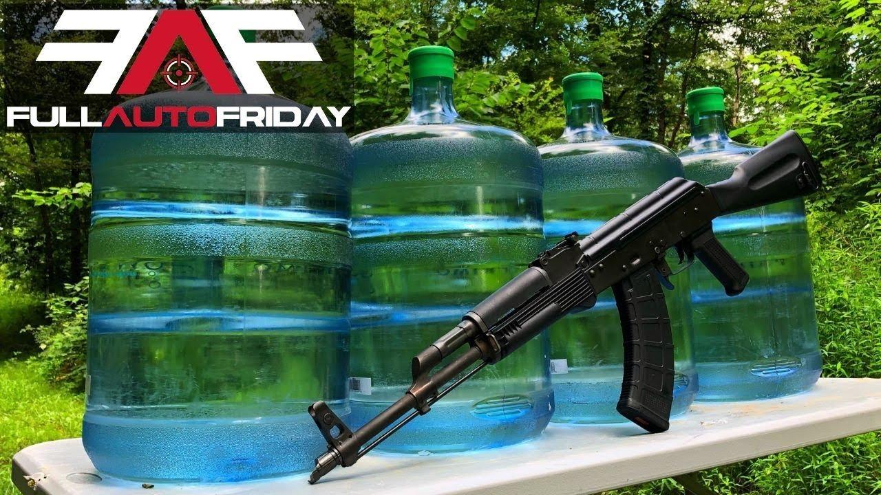 Full Auto Friday! AK-47 vs H2O💦