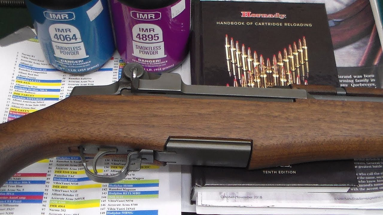 The Basics of Reloading for the M1 Garand - Watch you Op-Rod