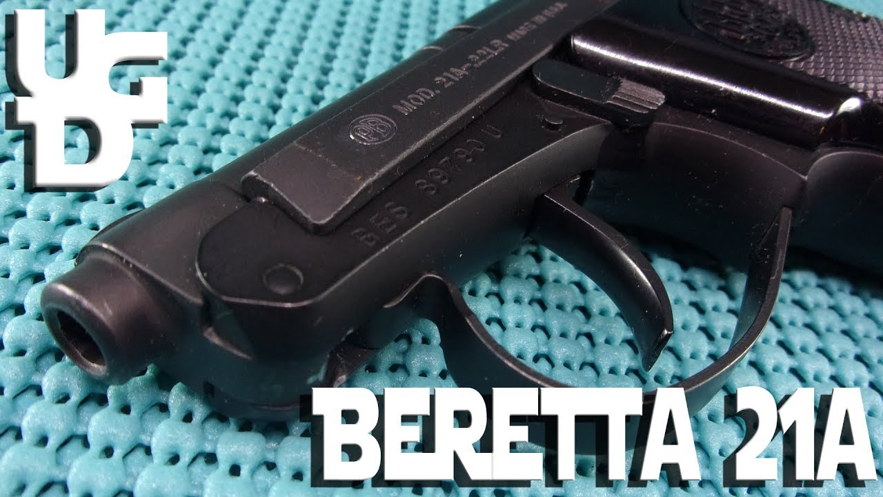 Beretta 21a 22lr 1st Look Review, ALL SONNY CROCKETT