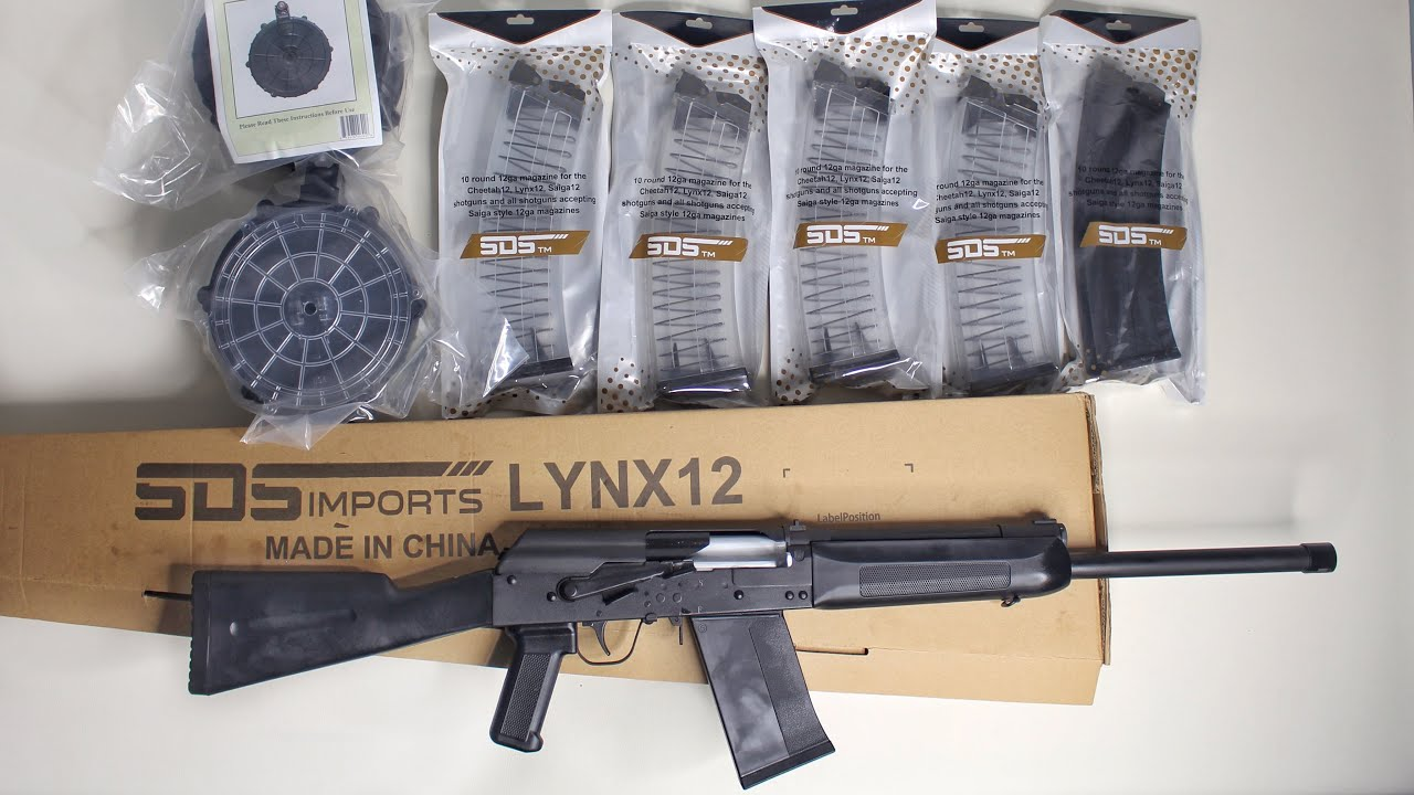 Lynx 12 Unboxing: Best Semi Auto Shotgun (AK) under $400