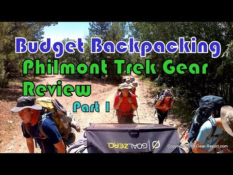 Budget Backpacking - Philmont Trek Gear Review - Part 1