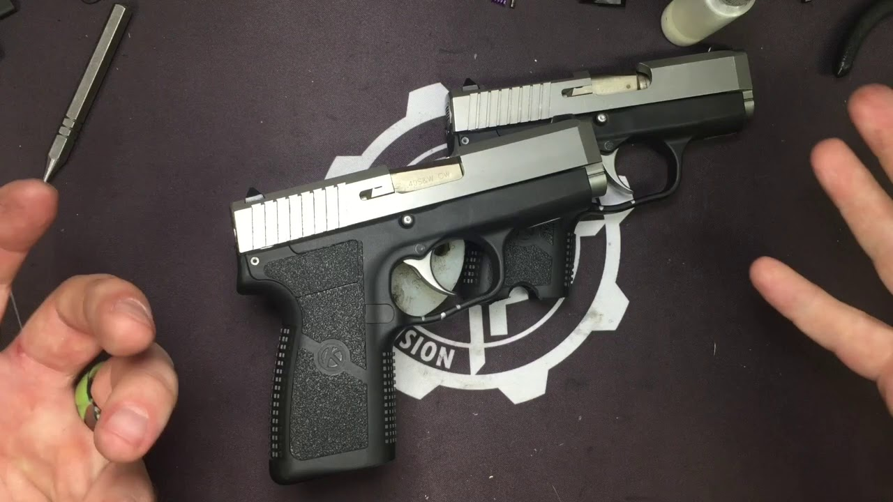 Kahr Quick Sear Explanation and Testing.