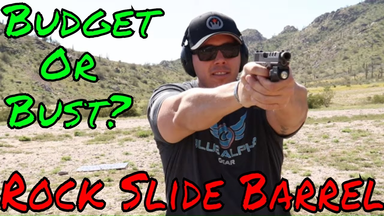 Rock Slide Glock 19 Barrel Dirt Cheap!