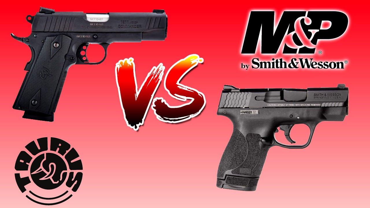 45 ACP Handgun Comparison