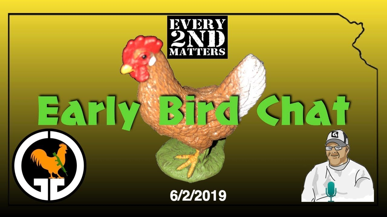 Early Bird Chat - Sunday Morning E2M Open Lobby 6/2/2019