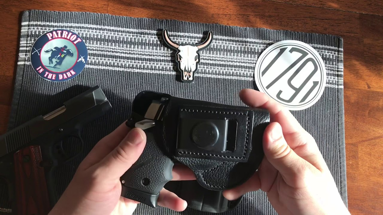1791 Gun Leather OWB Holster Review For a Colt 1911 Compact