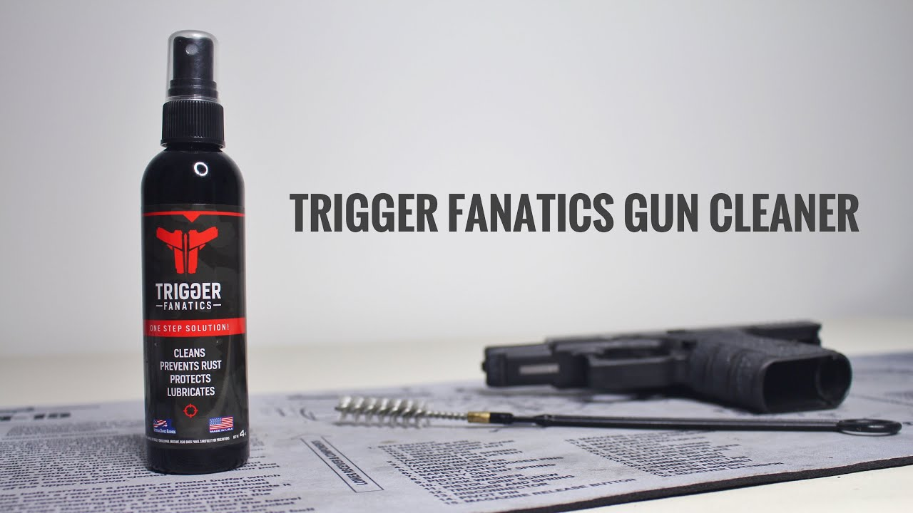 Trigger Fanatics Gun Cleaner, Lubricant, Rust Protection in 1