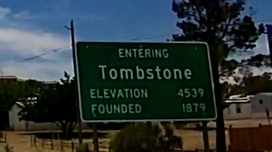 Driving to Tombstone AZ from Tucson