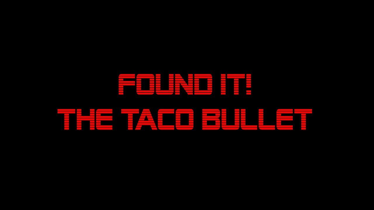 Taco's Lost & Found - The Taco Bullet (225gr 300blk)