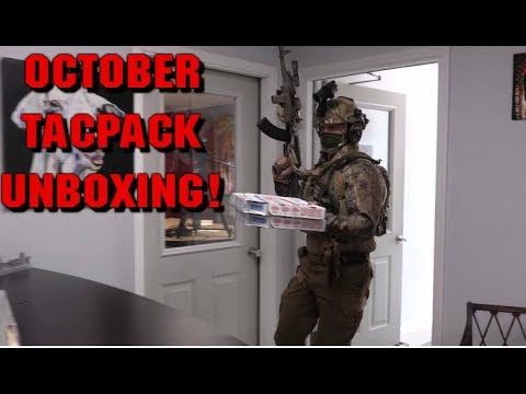 October Tacpack Unboxing and Review