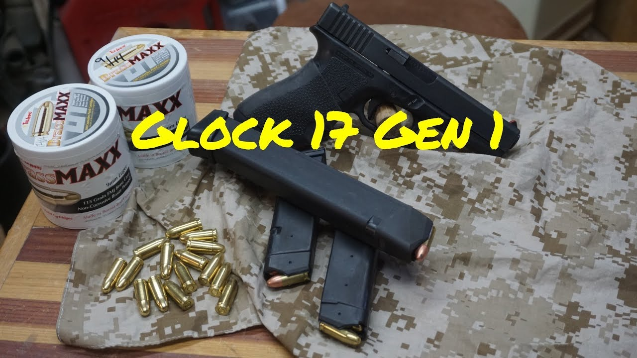 ⚫️Glock 17 Gen 1, Long in the tooth‼️