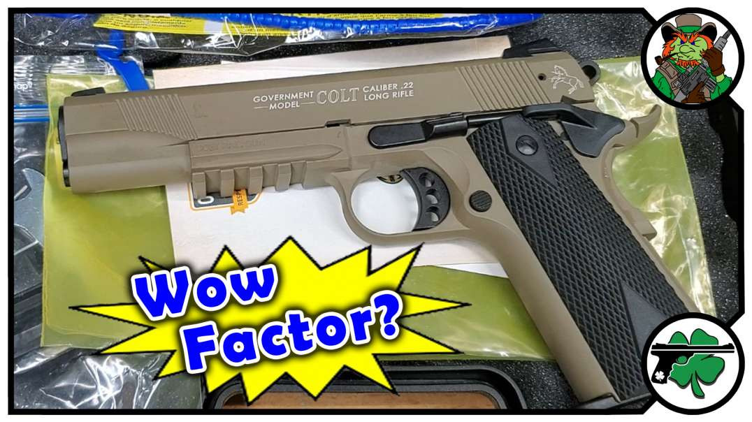 COLT 1911A1 Rail Gun 22 Caliber By Walther - FIRST IMPRESSIONS