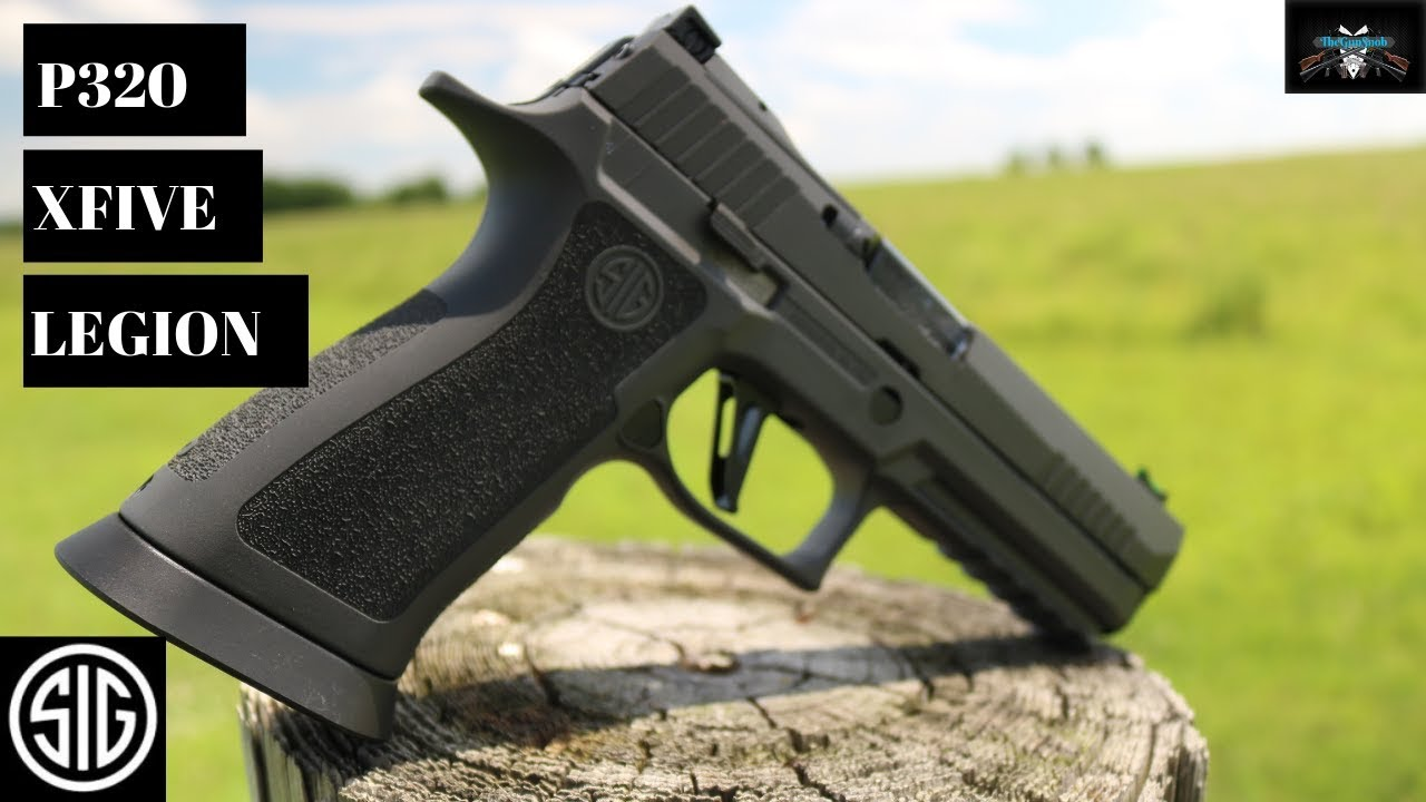 Sig Sauer P320 Xfive Legion, Full Review