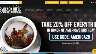 Black Rifle Coffee Company 20% Off Sale!