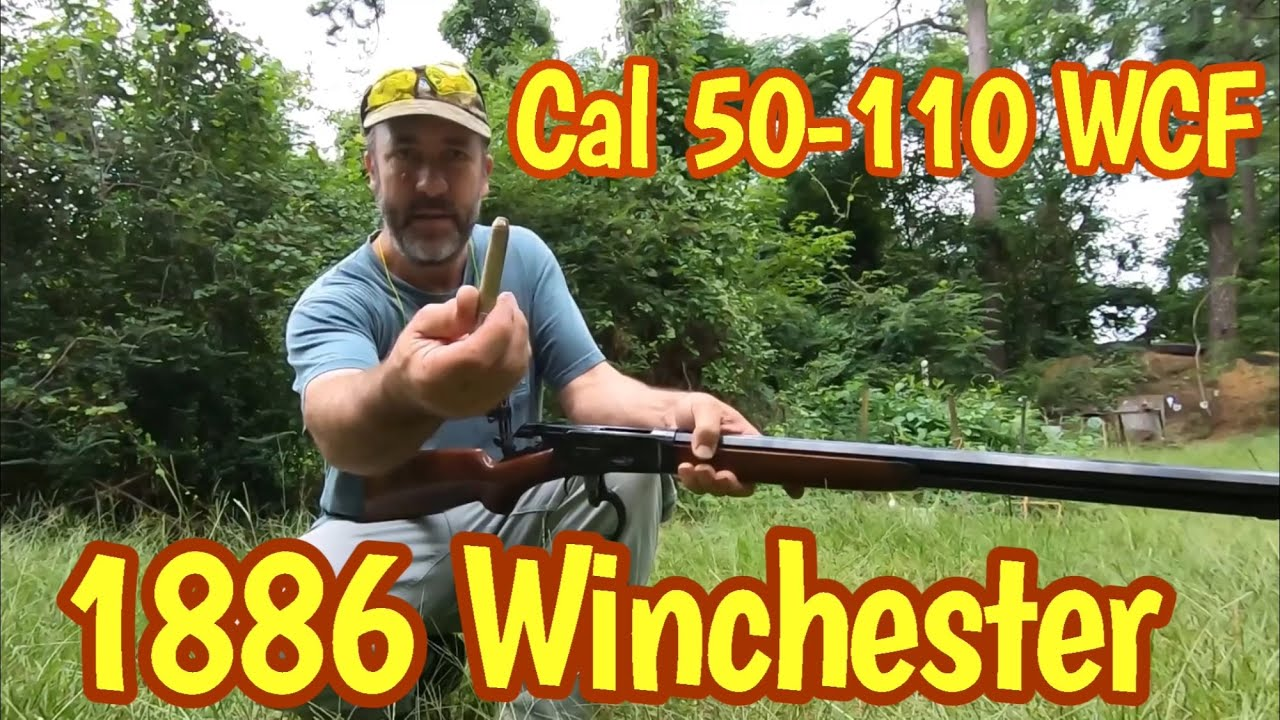Attempting to split playing cards with a 50 cal 1886 Winchester lever action rifle