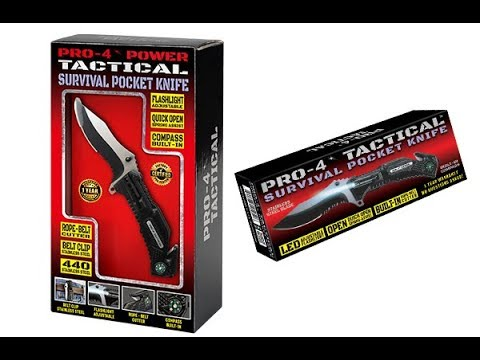 Pro-4 Tactical Survival Pocket Knife