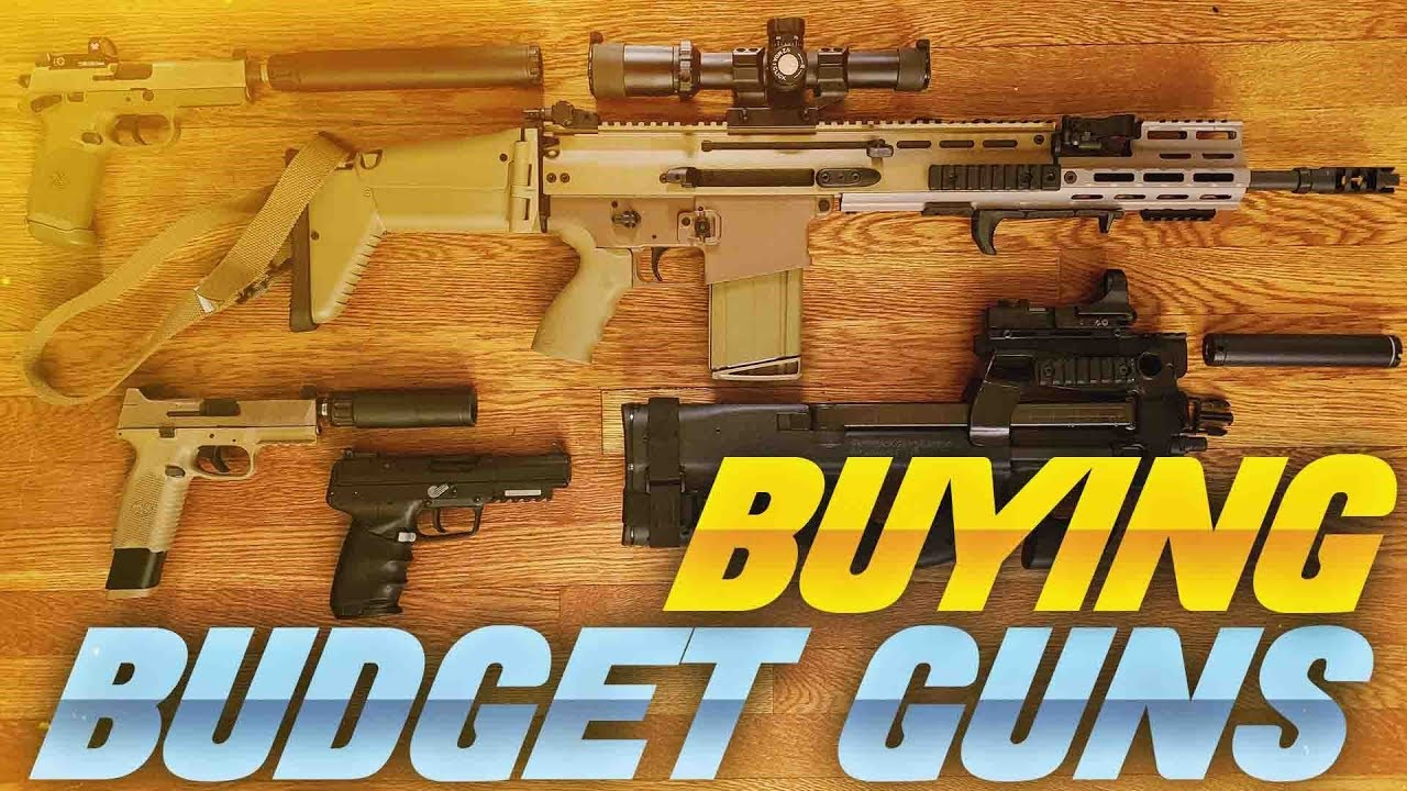 Buying Budget Guns
