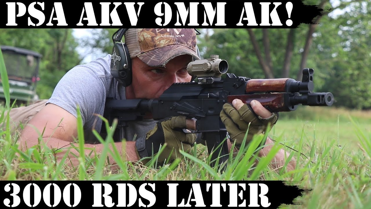 PSA AKV - 9mm AK! 3000 Rounds Later!