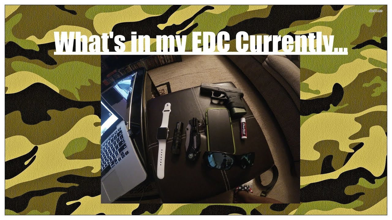 What's in my Current EDC?