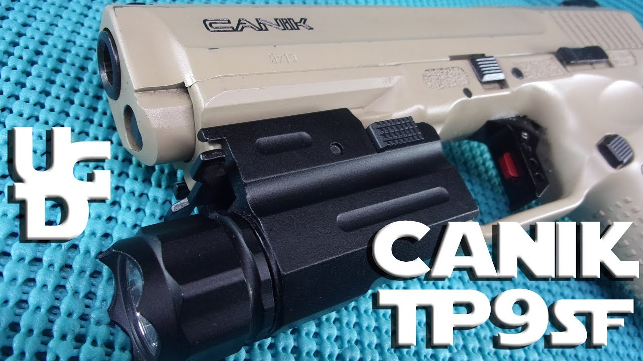Canik TP9SF Desert Tan Range Review Cain Arms and Freedsmith