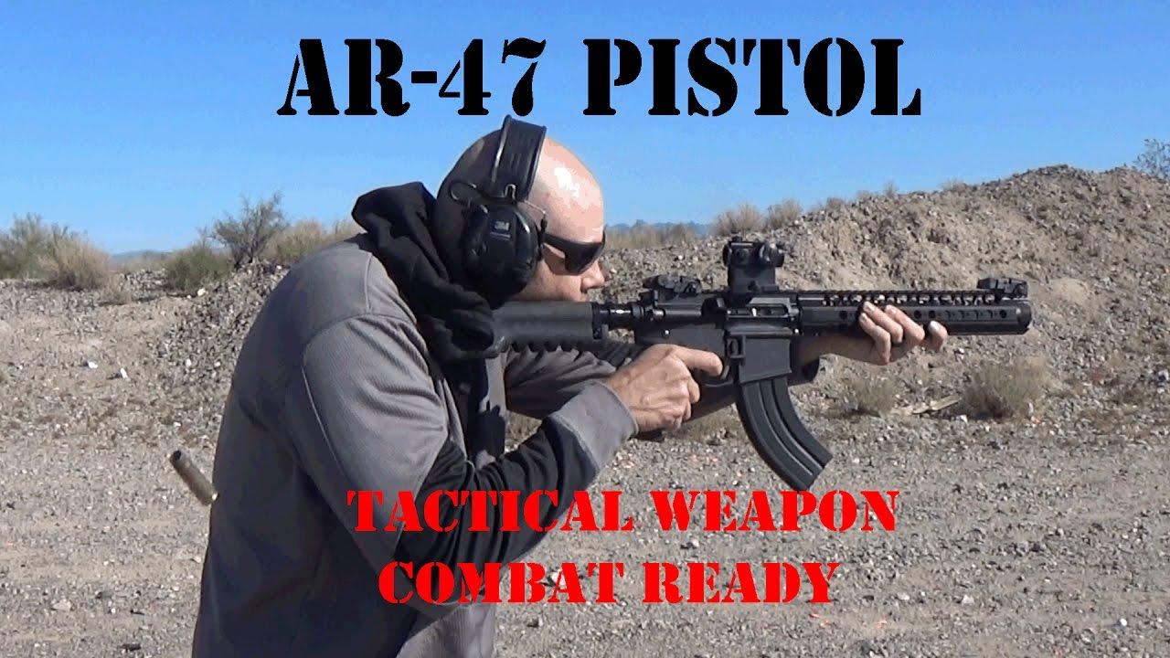 7.62x39 AR-47 pistol