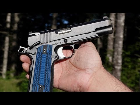 Dan Wesson Specialist 1911 with LOK Grips