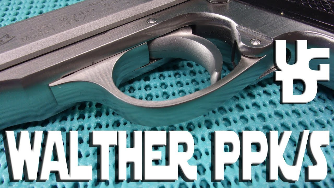 Walther PPK/S 1st Look Review from the Smith & Wesson in the