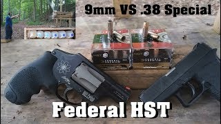 Short Barrels: 9mm VS .38 Special Ep.3- Federal HST