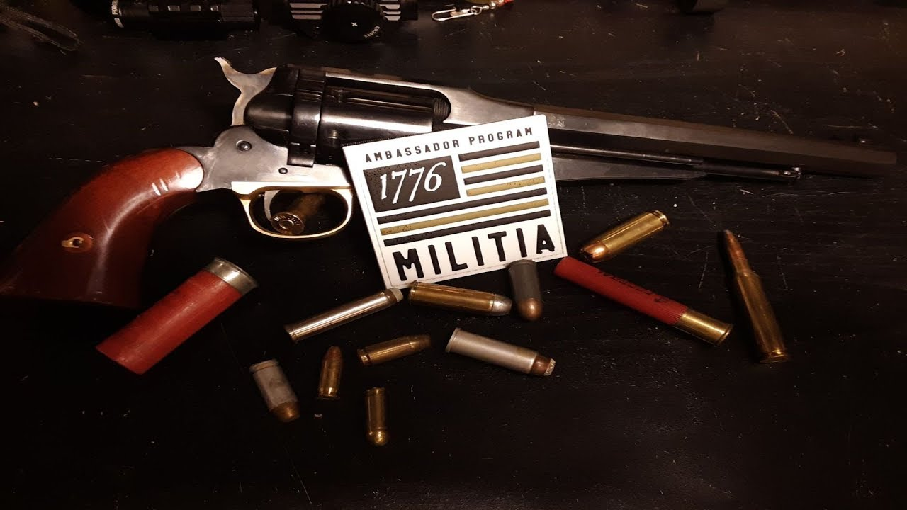 We joined the 1776 MILITIA!
