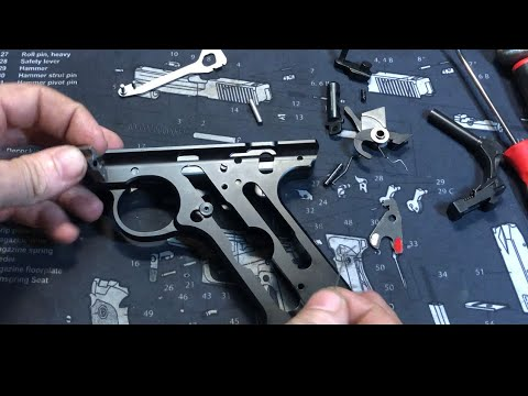 Ruger Mark IV Target Complete Disassembly & Reassembly