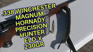 Hornady Precision Hunter ELD-X 230gr 338 Winchester Magnum
