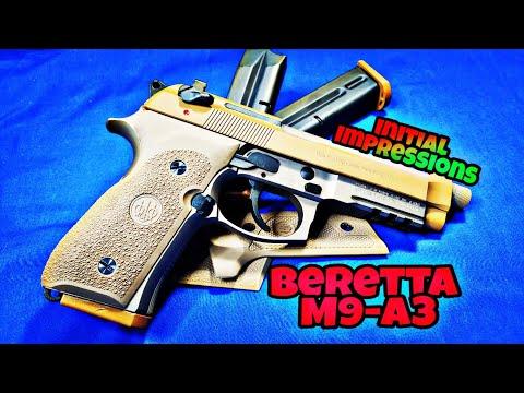 Beretta M9-A3: Initial Impressions