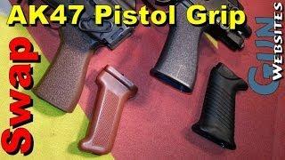 AK47 Pistol Grip Swap