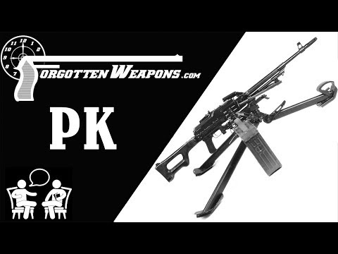 History of the PK, PKM, and Pecheneg w/ Max Popenker