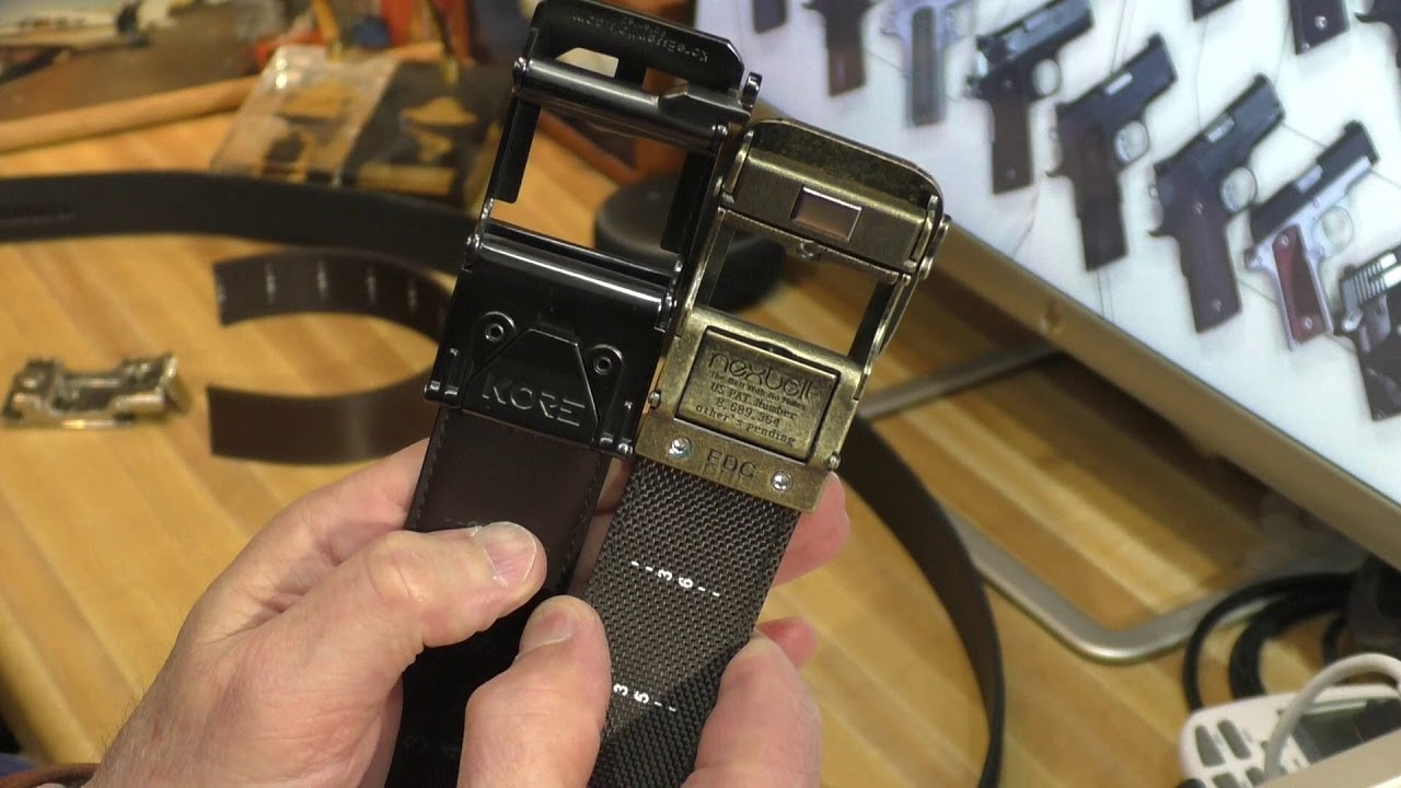 Kore Essentials Gun Belt vs NexBelt EDC Belt