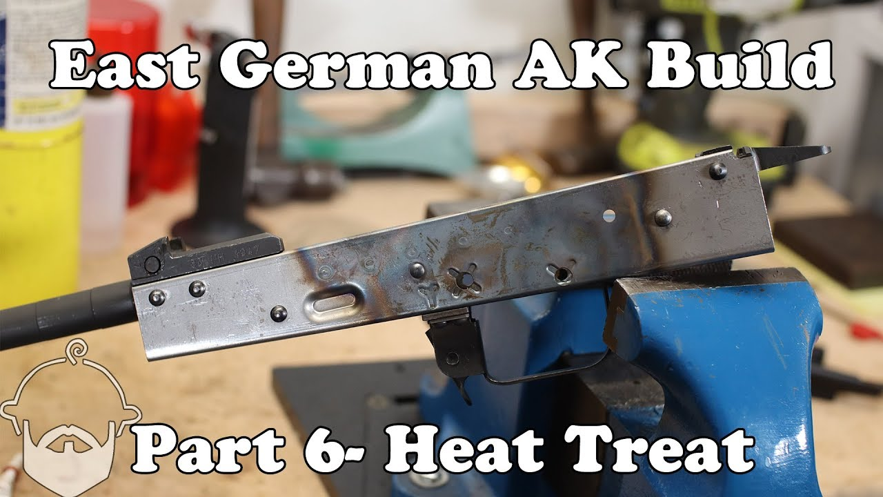 AK Build- Part 6- Heat Treat