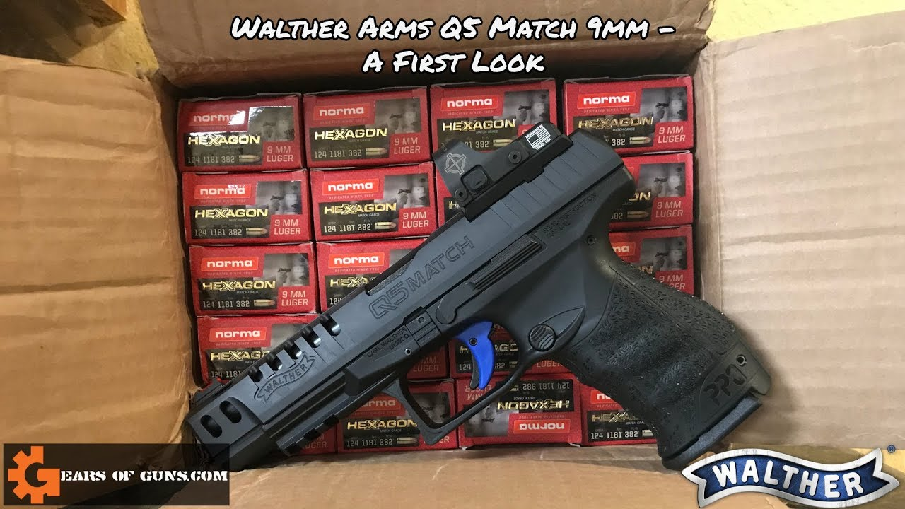 Walther Q5 Match Pistol - A First Look