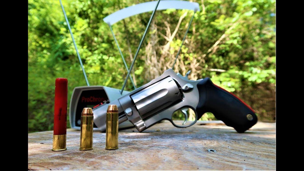 Taurus Raging Judge Magnum Chronograph - Snub Nose - Model 513
