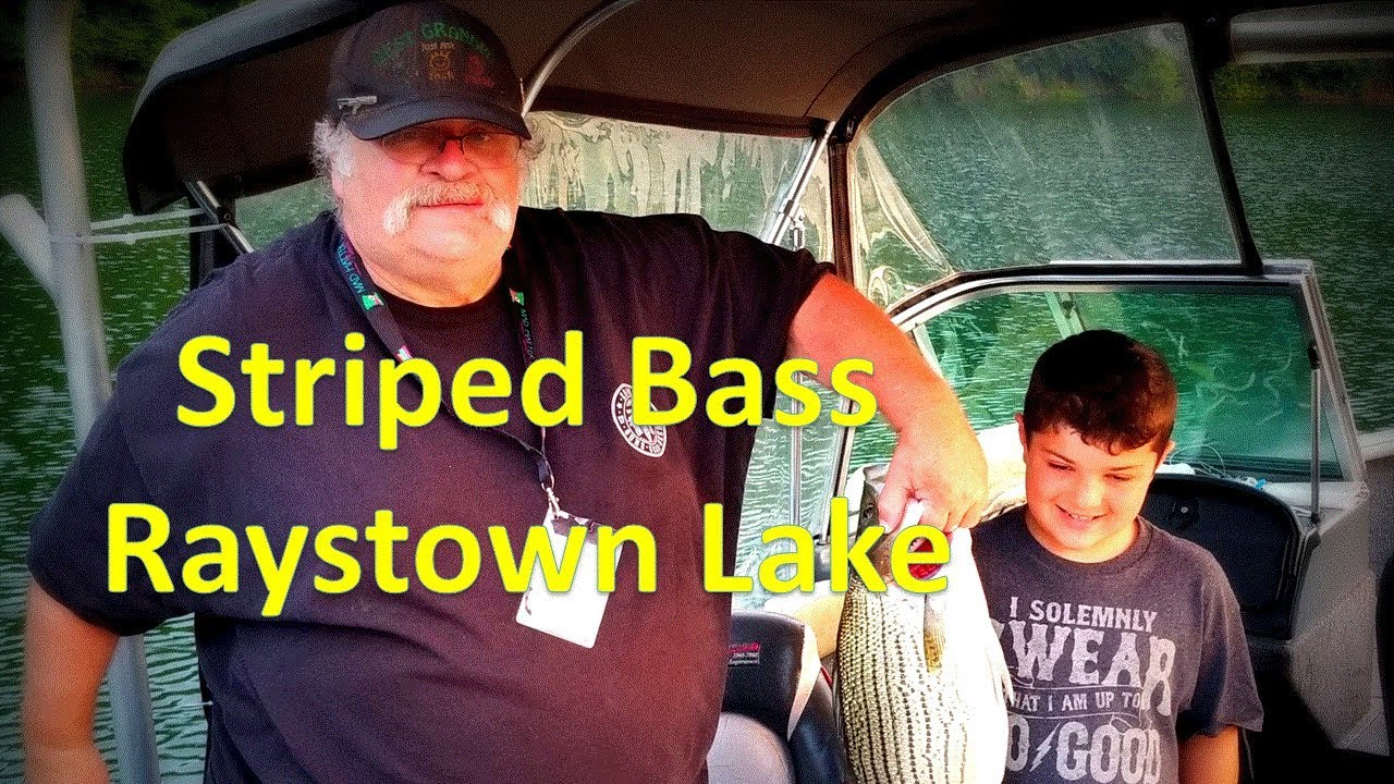 Striped Bass Fishing   Lake Raystown 2019