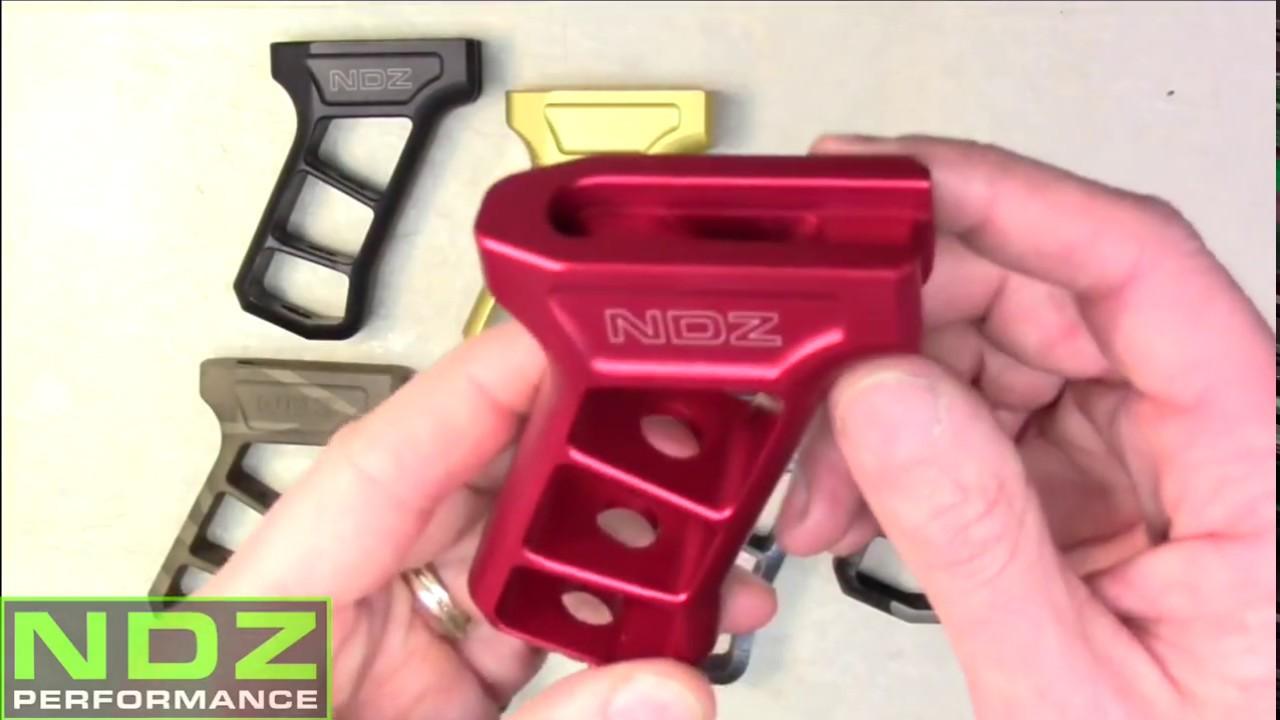 AK47 Skeleton Pistol Grip Cerakote Options by NDZ 922R Compliant