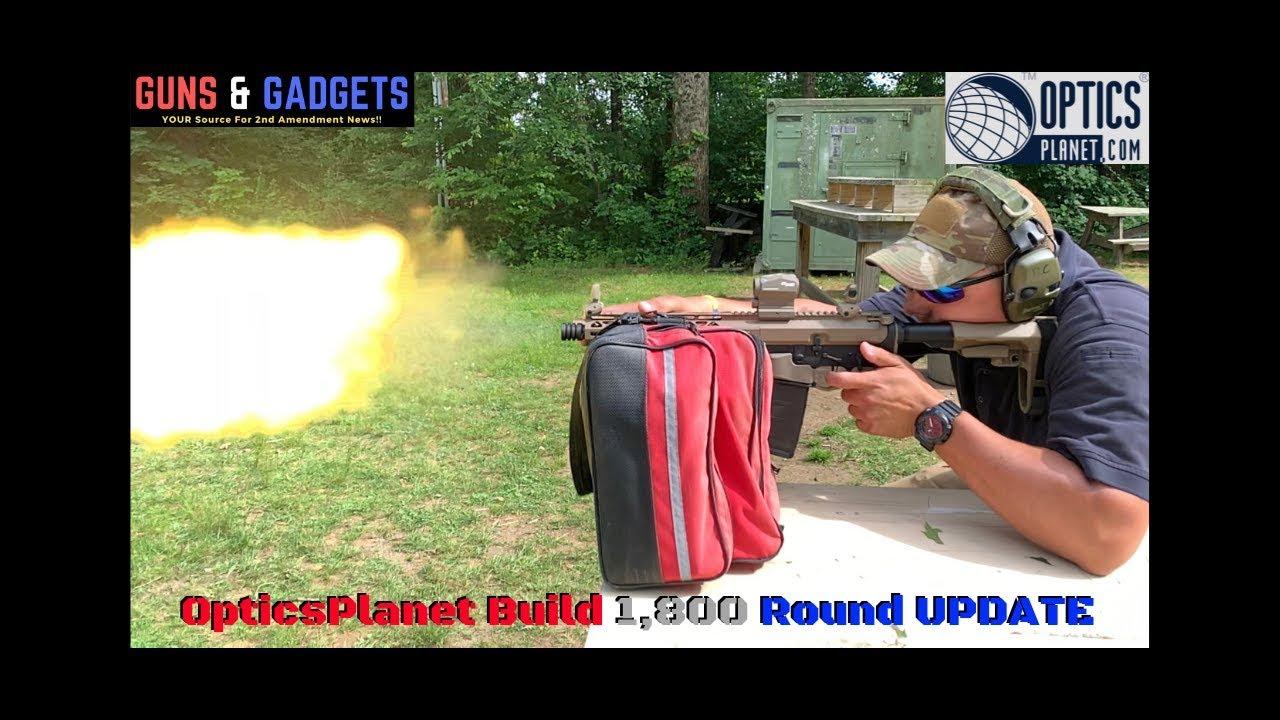 OpticsPlanet AR Pistol Build: 1,800 Round UPDATE
