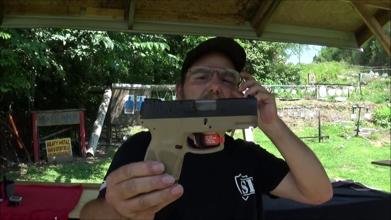 Taurus G2S 40 Ammo Test