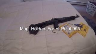 Mag. Holders For the Hi-Point 995