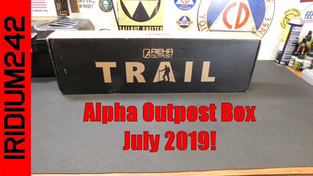Alpha Outpost Box July 2019!
